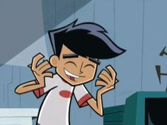 Danny Fenton - Danny Phantom---- He's so cute! Honestly, first fictional character crush all those years ago... wow, I seriously can't believe how long it's been since this aired...