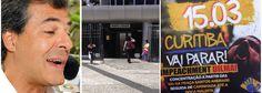 """Um dia após o governador Beto Richa (PSDB) defender a admissibilidade do impeachment da presidenta Dilma, duas garotas que faziam a entrega da propaganda anti-Dilma receberam R$ 50 por meio período de trabalho; é o que aponta o Blog do Esmael; """"Curitiba vai parar. Impeachment Dilma"""", diz uma fonte; tucano também á foi alvo de pedido de impeachment no Paraná, que amarga severa crise financeira"""