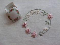 Flores no Jardim - Lee Albrecht: Bordado Livre