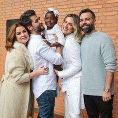 Batizado Titi filha Gio Ewbank e Bruno Gagliasso com padrinhos