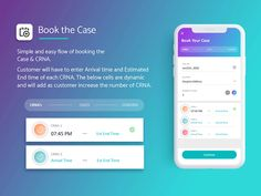 Anesthesia Customer Booking App