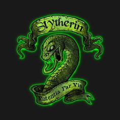 Check out this awesome 'Slytherin' design on @TeePublic!
