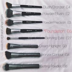 Morphe must-haves!!