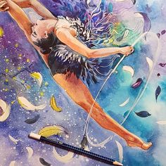 by #strekosadesign #rhythmic_art #rhythmic_gymnastics #художественная_гимнастика #спорт-арт #художественная_гимнастика #гимнастика #gym #gymnastics  #sportillustration