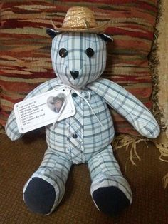 Memory Bears With Free Patterns and Tutorials | The WHOot
