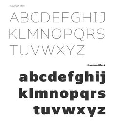 Nauman - Font Family by The Northern Block, via Behance