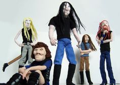 Dethklok dolls