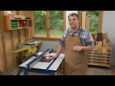 Woodworking Tip: Time-Saving Router Table Setup – Exercises and Fitness Jet Woodworking Tools, Essential Woodworking Tools, Youtube Woodworking, Woodworking Store, Woodworking Projects, Sliding Table, Router Table, Wood Plans, Router Bits
