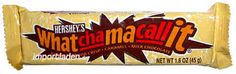 "Whatchamacallit - i still remember the song. ""dodah, skidamarie, more than a mouthful, it's whatchamacallit! List Of Candy, Old School Candy, Vintage Candy, Retro Candy, Vintage Food, Vintage Stuff, Candy Buttons, Heath Bars, Peppermint Patties"