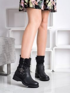 Zateplené workery Knee Boots, Tommy Hilfiger, Biker, Chelsea, Michael Kors, Shoes, Products, Fashion, Moda