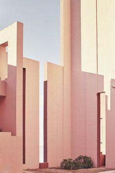 RICARDO BOFILL, La Muralla Roja, Calpe, Spain 1968-1973....