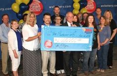 Pool of 26 to share $1M lottery prize. Nice.