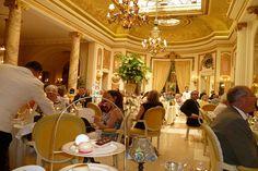 Tea at The Ritz Hotel, London.