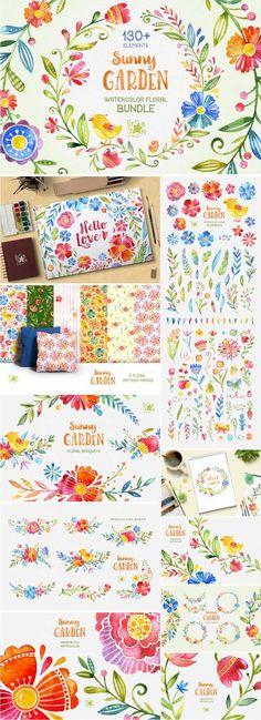 Sunny Garden Floral Bundle - 466453