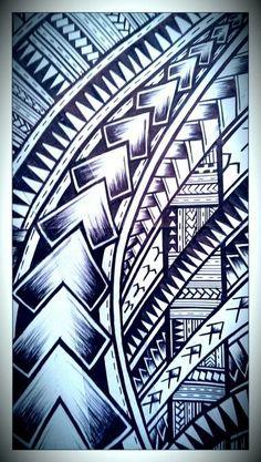 I thought i lost my mojo for art but i just finished this picture only a snippet of the full picture Maori Tattoos, Maori Tattoo Frau, Hawaiianisches Tattoo, Samoan Tribal Tattoos, Tribal Sleeve Tattoos, Tattoo Motive, Body Art Tattoos, Borneo Tattoos, Thai Tattoo