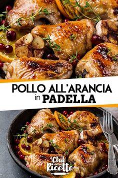 Pan-fried Orange Chicken- Stir-fried orange chicken - - Cucinando X Asian Chicken Recipes, Meat Recipes, Cooking Recipes, Healthy Recipes, Orange Chicken Stir Fry, Beef Skillet Recipe, Food Club, Italian Recipes, Food Inspiration