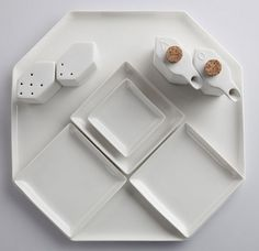 Pieter Stockmans Uno Due Tre Tableware for Serax