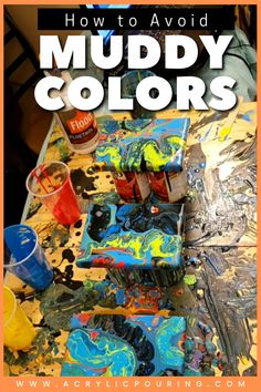 Perfect Cell, Acrylic Pouring Art, Pour Painting, Color Schemes, Invitations, Acrylic Paintings, Create, Artist, Insight