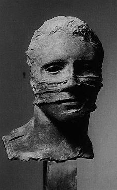 "europeansculpture: "" Igor Mitoraj (1944-2014) - Tête, 1985 "" Art Mannequin, Igor Mitoraj, L'art Du Portrait, Ceramic Figures, Art Sculpture, European Paintings, Contemporary Sculpture, Rodin, Figurative Art"