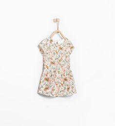 ZARA - KIDS - Jacquard print dress