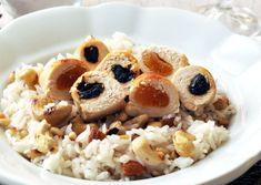 Aszalt gyümölcsös csirkemell recept. Minion, My Recipes, Oatmeal, Breakfast, Food, The Oatmeal, Morning Coffee, Rolled Oats, Essen