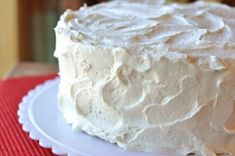 """The Best Frosting {a.k.a. Magical Frosting or Cook's Country's Oct/Nov 2010 """"Miracle Frosting""""} ~ 1½C Sugar • ¼C AP Flour • 3T Cornstarch • ¼t Salt • 1½C Milk • 2t Vanilla • 3 sticks Butter, cut into 24 pieces and softened to rm temp"""