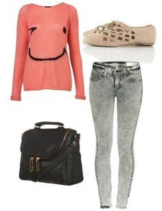 outfit with gray leggings