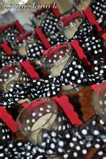 red, black & white wedding - only ours is green,  black & white
