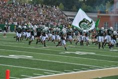 Charlotte 49er Pride.  First Football game in Niner history August 31, 2013.