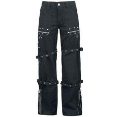 Für alle, die es gerne locker und lässig haben: Alcatraz bringt mit diesen 'Stud Trousers' einen echten Knaller auf den Markt. Mega cool und dabei alltagstauglich kannst du diese Hose bequem zu jeder Zeit tragen. Dann noch Nieten? Loose Fit? Schwarz? Na, immer her damit!