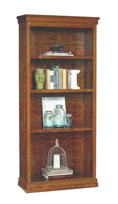 Amish Charleston Bookshelf