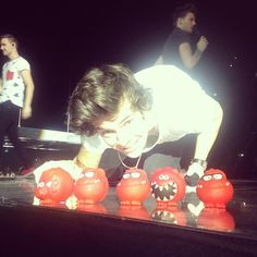 Photo by onedirection...Red Nose Day!!!