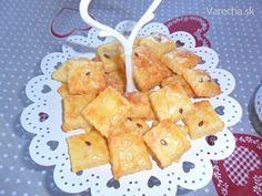 Chrumkavé slané pečivo (fotorecept) - Recept