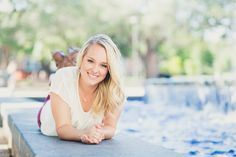 Houston Senior Pictures, Senior Portraits, College Station, Texas A&M, Aggie, fountain, Houston Photographer www.GildedSun.com