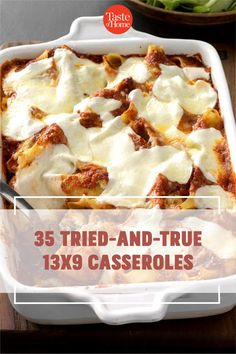 These trustworthy 13x9 casseroles will cook perfectly. From traditional classics to kid-friendly favorites, bank on these recipes for reliable meals. Brunch Recipes, Breakfast Recipes, Breakfast Casserole, Sausage Crescent Rolls, Meal Prep For Beginners, Healthy Recipes, Healthy Foods, Cooking Recipes, Tasty