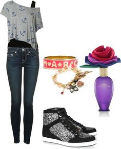 """A la Tori Vega♥"" by dixxvictorious ❤ liked on Polyvore"