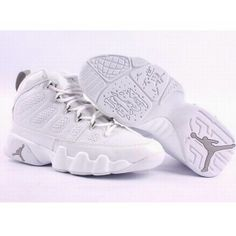 all white air jordan 13