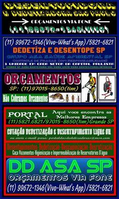 Grupo ASA (11) 5821-6821/99672-1346-Grupo ASA Saúde Ambiental São Paulo Orçamentos Via Fone: (11) 5821-6821/99672-1346-(Whats App-Vivo)| Dedetizadoras sp | Descupinização sp | Desinsetização sp | R…