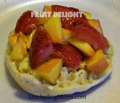 Fruit Delight - is the best and easy #breakfast for a busy morning  http://www.stockpilingmoms.com/2012/09/fruit-delight/