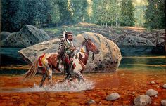 Richard Luce - On the Yellowstone
