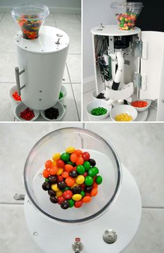 I so need this candy sorter! drives me crazy if I don't separate my colors before I eat them!