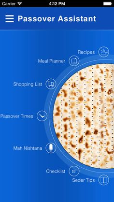 We haven't tried it yet, but we are not surprised to find an App out there for Passover...this Helpful Passover App comes from Jewitup.com!  #Dreideljams #Passover