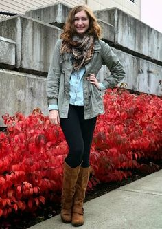 Stylish and comfy college outfit