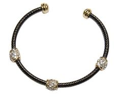 Love.....love....love.  Cable bracelet $18 and free shipping with a $35 order.  #womens fashion