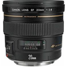 Canon 20mm F/2.8 Ultra Wide Angle Lens, cheaper