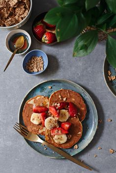 Palačinke sa hrskavim pahuljicama / Cereal pancakes