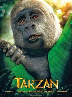 Tarzan Movie Poster / Plakat ( of Tarzan 3d, Tarzan Movie, Disney Movie Scenes, Disney Movies, Cinema, Great Movies, Movie Posters, Theater, Posters