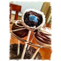 Gender Reveal Cake Pops From 298 Creations
