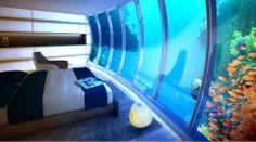 The Water Discus  Dubai'de yakın zamanda inşa edilmiş bu otelin büyük kısmı su altına inşa edilirken suyun üzerine de bir bölüm eklenmiş. Otel 3 ayak ile denizin dip kısmına sabitlenerek güzelliğin yanı sıra güvenlik de hedeflenmiş.  #42maslak #luxury #residance #otel #thewaterdiscus