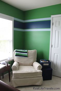 Share Tweet Pin Mail As I promised here are pictures of Caden's nursery finished. I didn't want the typical little boys nursery and saw ...